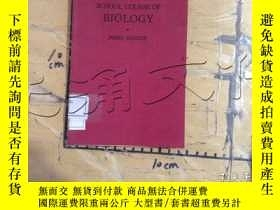 二手書博民逛書店A罕見SCHOOL COURSE OF BIOLOGYY1141