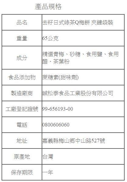 梅子.蜜餞《梅問屋》去籽日式綠茶Q梅餅(全國第一家梅子觀光工廠.健康看的見)
