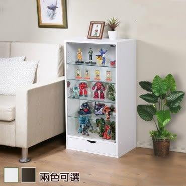 《C&B》加深型可瑞訊第二代公仔模型展示矮櫃-白色