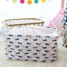 洗衣藍 扁-日式方形棉麻束口洗衣藍(25...