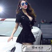 大碼情趣內衣女警制服演出服夜店包臀裙短裙真人角色扮演200斤騷