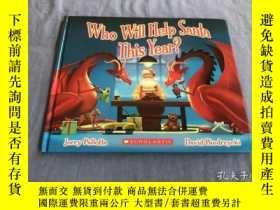 二手書博民逛書店Who罕見Will Help Santa This Year?: