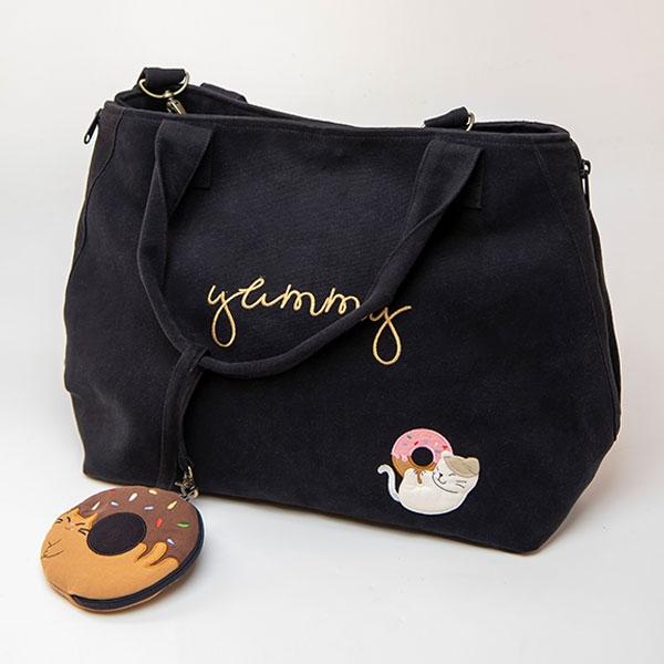 旋轉甜甜圈兩用包