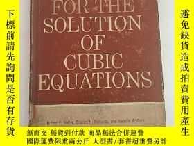 二手書博民逛書店TABLE罕見FOR THE SOLUTION OF CUBIC