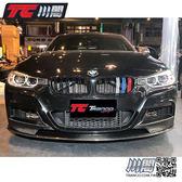 BMW F30 F31 水箱罩 鼻頭 雙槓亮黑3色 3系列 現貨供應 TRANCO 川閣
