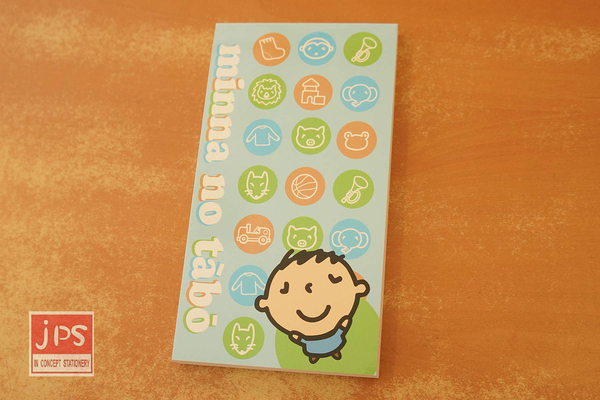 Minna no Tabo 大寶 長型便條本 MEMO紙 空白便條 KRT-215556