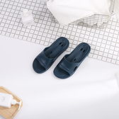 動態氣流深藍浴室拖(L)-生活工場