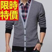 長袖毛衣別緻個性-非凡做舊假兩件式男襯衫 3色59ac23【巴黎精品】