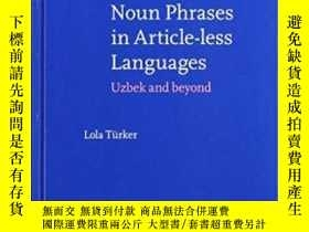 二手書博民逛書店Noun罕見Phrases In Article-less La