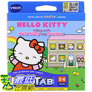 [106美國暢銷兒童軟體] VTech InnoTab Software - Hello Kitty