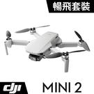 【震博】DJI MINI 2 空拍機 無人機 (暢飛套裝;公司貨)