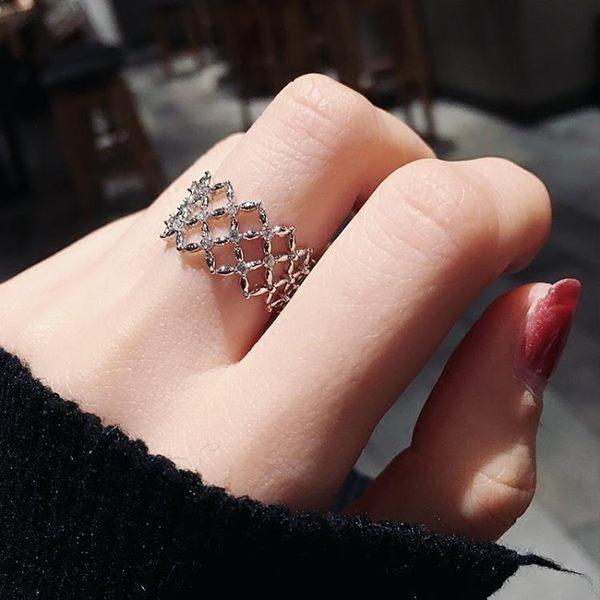戒指尾戒個性學生小指關節指環大氣【極簡生活館】