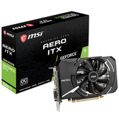 MSI 微星 GeForce GTX 1660 Ti AERO ITX 6G OC 顯示卡
