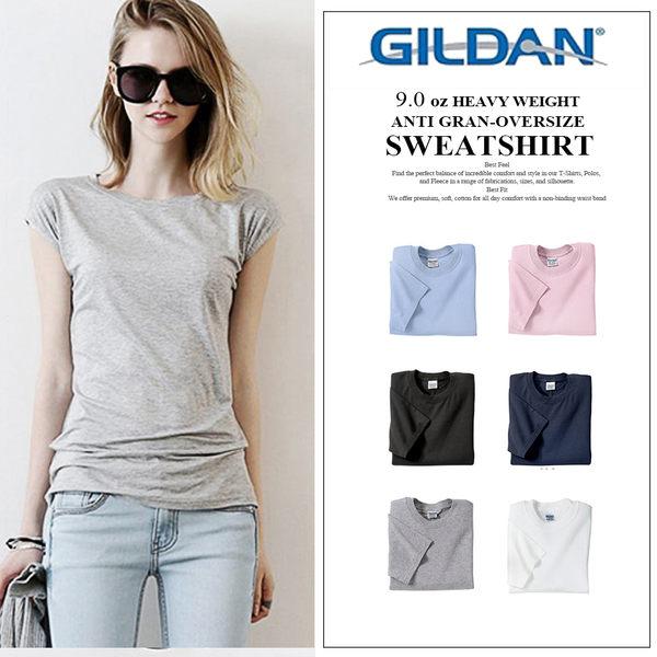 GILDAN 吉爾登美國棉素T 經典素面圓筒T 女版 情侶款 親子裝
