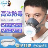 防毒口罩過濾棉噴漆油漆工專用化工氣體全面具防灰粉塵防異味透氣 港仔會社