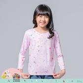 【WIWI】聖誕瑪麗貓TsumTsum溫灸刷毛圓領發熱衣(戀愛粉 童100-150)