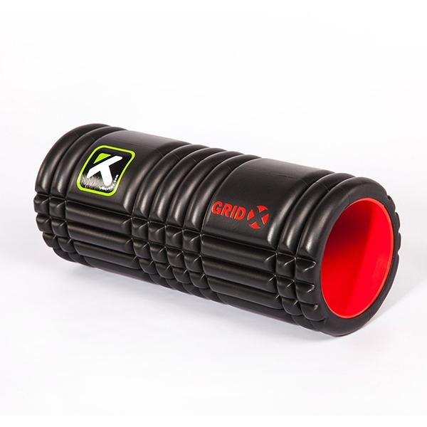 Trigger Point 瑜珈輔具 The Grid X 平衡訓練滾筒(強化版) - 黑色短版