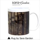 客製 手作 彩繪 馬克杯 Mug 80年代 復古 美式 街景 咖啡杯 陶瓷杯 杯子 杯具 牛奶杯 茶杯
