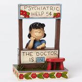 《Enesco精品雕塑》SNOOPY 露西醫生塑像-The Doctor is in(Peanuts by Jim Shore)_EN69861