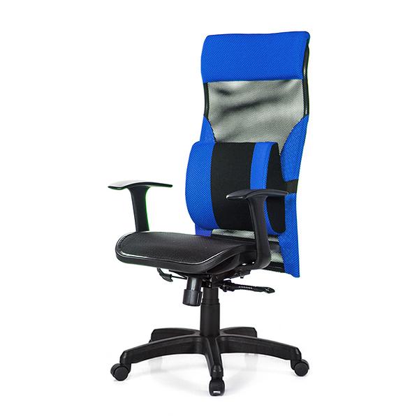 GXG 高背電腦椅 (T字扶手/大腰枕) 型號170 EA