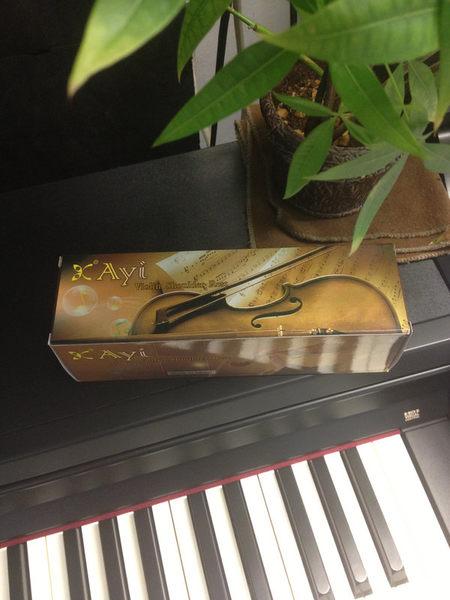 【金聲樂器廣場】Ayi 小提琴通用型肩墊 1/4 1/2 3/4 4/4 高級木質 鋪棉墊肩