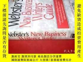 二手書博民逛書店webster s罕見New Business Writers