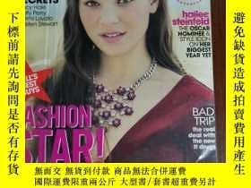 二手書博民逛書店teen罕見Vogue 2013年10月 英文版Y42402