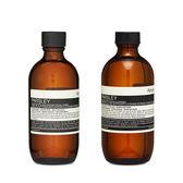 Aesop 伊索 超值組 香芹籽潔面露 + 香芹籽抗氧化活膚調理液 1 set, 2 pcs 【玫麗網】