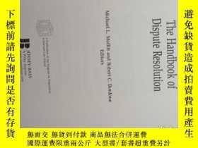 二手書博民逛書店The罕見Handbook of Dispute Resolut