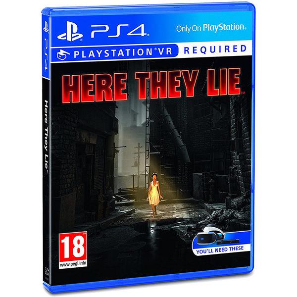 PS4 Here They Lie: 沉睡者們(相容VR) 戰神工作室製作 -英文版- 謊言凶間