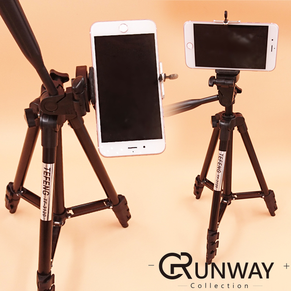 【現貨】輕型 TF-3120 三角架 單眼 手機 gopro 穩定自拍支架 水平儀 橫豎拍攝 伸縮腳架 100CM