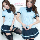 制服 XL 中大尺碼學生服 角色扮演學生裝百摺裙-愛衣朵拉