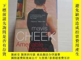 二手書博民逛書店mavis罕見cheek:amenable women【004】
