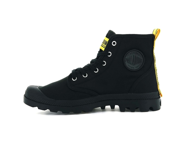 PALLADIUM PAMPA HI DARE SAFETY黑黃 軍靴 男女 76746008【FEEL 9S】