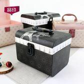 表白禮物 禮品盒長方形提箱禮物盒 鮮花包裝盒 小資田園風格情人節生日禮盒【快速出貨85折】