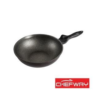 韓國 CHEFWAY 銀河系列IH磨石不沾炒鍋-30cm
