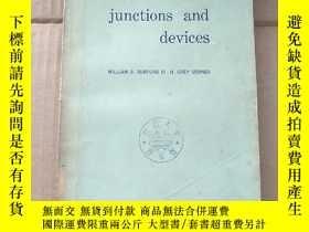二手書博民逛書店semiconductor罕見junctions and devices(P928)Y173412