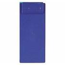 《享亮商城》Q66110 藍色 隨意型板夾-小長條 ABEL