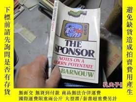二手書博民逛書店the罕見sponsor 360019636 barnouw o