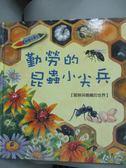 【書寶二手書T2/少年童書_YCL】勤勞的昆蟲小尖兵_咸潤美