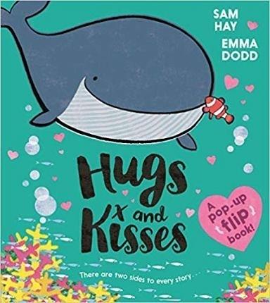 【超暖心繪本】HUGS AND KISSES/平裝繪本《主題: 自我認同.友誼》 (書中為立體頁面)