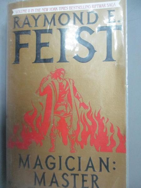 【書寶二手書T7/原文小說_LEH】Magician: Master_FEIST, RAYMOND E.