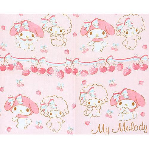 【震撼精品百貨】My Melody 美樂蒂~美樂蒂紗布手帕(櫻桃)