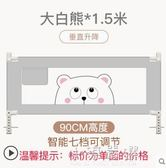 床圍欄寶寶防摔防護欄嬰兒童大床1.8-2米通用垂直升降床邊擋板CY『小淇嚴選』