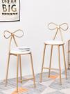 吧檯椅 北歐鐵藝吧台椅吧椅創意吧凳吧台凳高腳凳 簡約休閒餐椅餐廳椅子 夢藝家