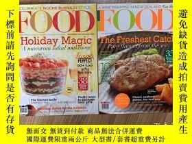 二手書博民逛書店FOOD罕見雜誌兩本 Yummy雜誌一雜誌Y358835