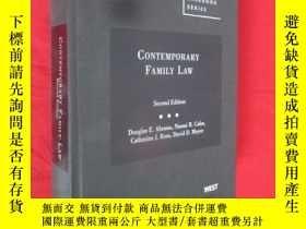二手書博民逛書店Contemporary罕見Family Law (硬精裝) 【