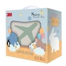 3M 安全地墊禮盒旅行-暖石灰(32X32X2cm 9片裝)[衛立兒生活館]