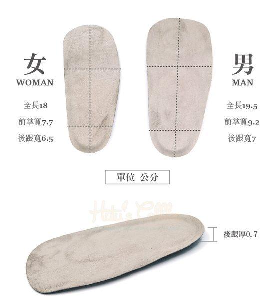 鞋墊.鞋材.SEBS絨布七分墊.男/女【鞋鞋俱樂部】【906-C138】