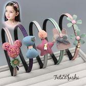 兒童髮箍小女孩防滑頭箍正韓女童髮飾寶寶髮卡子公主皇冠頭飾飾品